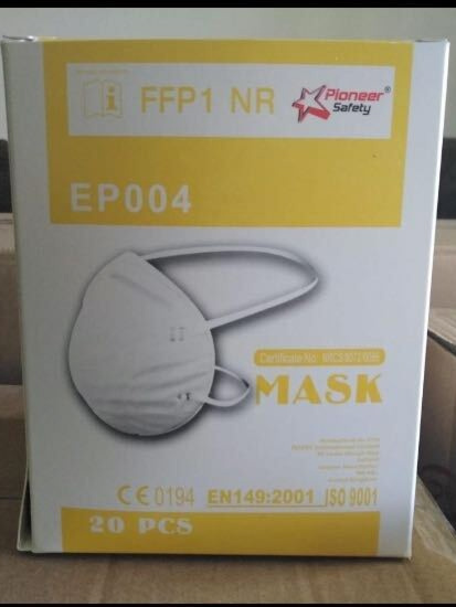 Pioneer Safety Mask